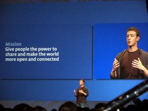 Zuckerberg Facebook Slogan