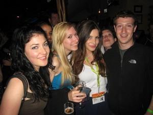 Mark Zuckerberg partying